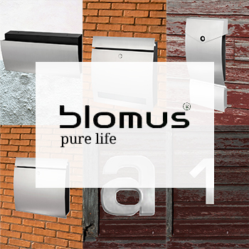 Blomus Stainless Steel Mailboxes