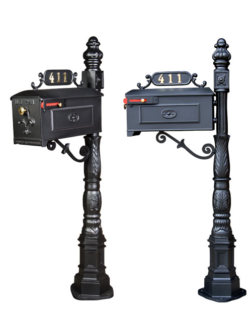 Cast Aluminum Mailboxes and Posts