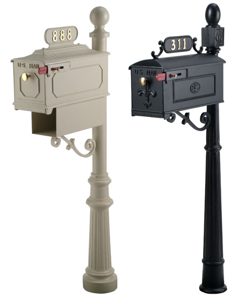 Imperial Mailbox and Post Combos