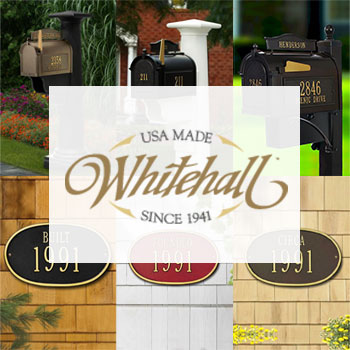 Whitehall Products - Mailboxes, Address Plaques, and Home