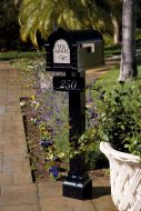 Original Keystone Residential Mailbox and Standard Post by Gaines