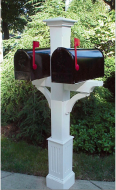 new-england-woodworks-wooden-cedar-double-mailbox-post