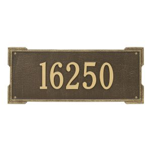 Personalized Roanoke Plaque - Estate - Wall - 1 Line