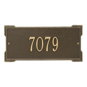 Personalized Roanoke Plaque - Standard - Wall - 1 Line