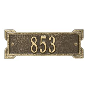 Personalized Roanoke Plaque - Petite - 1 line