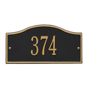 Whitehall Rolling Hills Plaques - Mini Wall - One Line Address Plaque
