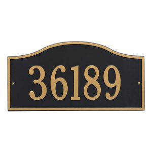 Whitehall Rolling Hills Plaques - Grand Wall - One Line Address Plaque