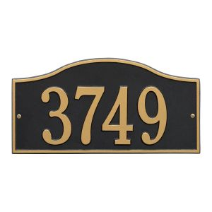 Whitehall Rolling Hills Plaques - Standard Wall - One Line Address Plaque
