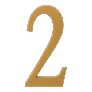 Whitehall 4.75 inch Gold House Address Number - 2