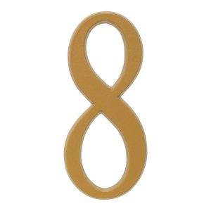 Whitehall 4.75 inch Gold House Address Number - 8
