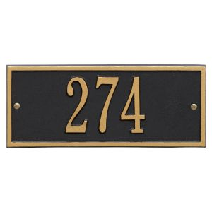 Whitehall Hartford - Mini  Wall - One Line Address Plaque