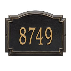 Whitehall Williamsburg - Standard Wall - One Line Address Plaque