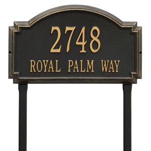 Whitehall Williamsburg - Estate Lawn - Two Line Address Plaque