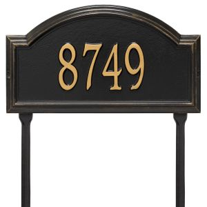 Whitehall Providence Arch - Standard Lawn - One Line Address Plaque