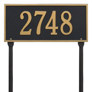 Whitehall Hartford - Standard Lawn - One Line Address Plaque
