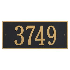 Whitehall Hartford - Estate Wall - One Line Address Plaque