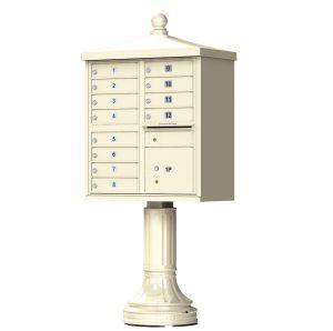 decorative usps cluster mailbox 12 tenants