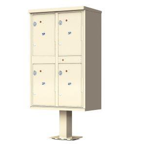 4 Door Parcel Locker Cluster Mailbox