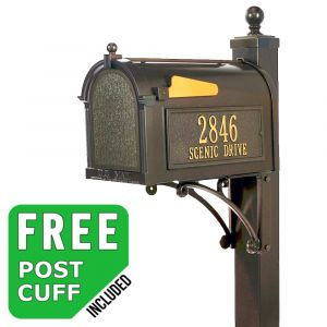 Whitehall Deluxe Custom Mailbox Package - Build Options