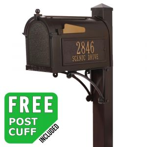 Whitehall Superior Residential Mailbox and post