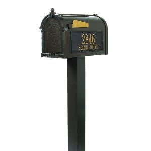 Whitehall Premium Streetside Mailbox Package
