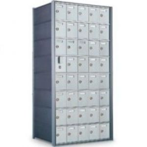 9 Doors High x 3 Doors (27 Tenants) 1700 Horizontal Mailbox Rear-Load Private Distribution