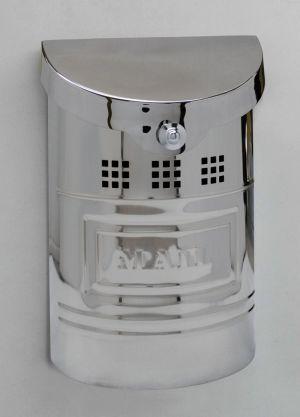 E1 Wall Mounted Stainless Steel Modern Mailbox (smaller than E2)
