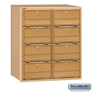 Salsbury 2108RL Americana Mailbox Rear Loading 8 Tenant Doors