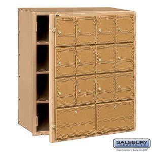Salsbury 2114FL Americana Mailbox Front Loading 14 Tenant Doors