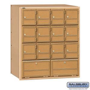 Salsbury 2114RL Americana Mailbox Rear Loading 14 Tenant Doors