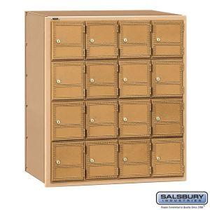 Salsbury 2116RL Americana Mailbox Rear Loading 16 Tenant Doors