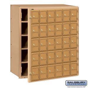 Salsbury 2130FL Americana Mailbox Front Loading 30 Tenant Doors