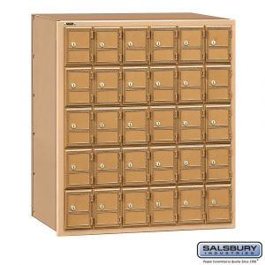 Salsbury 2130RL Americana Mailbox Rear Loading 30 Tenant Doors