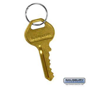 Master Control Key - for Resettable Combination Lock of Open Access Designer Locker and Designer Gear Locker Door