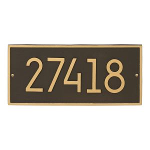 Hartford Modern Personalized Wall Plaque