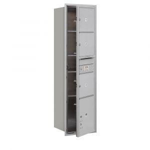Salsbury 3716S-03FU 4C Mailboxes 3 Tenant Doors Front Loading