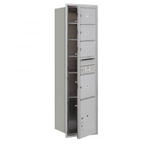 Salsbury 3716S-04FU 4C Mailboxes 4 Tenant Doors Front Loading