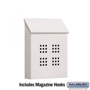 Salsbury 4625 Traditional Mailbox Decorative Vertical Style