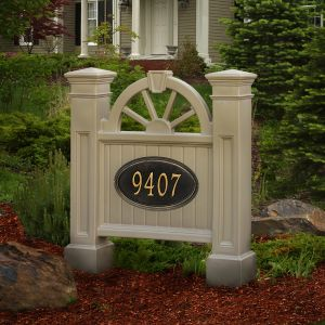 Winchester Address Sign (address plaque sold separately)