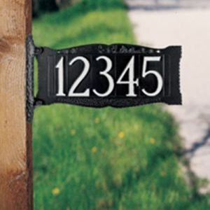 7011-standard-two-sided-post-sign-with-ornament-option-1-line-28