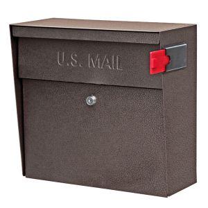 Ultimate High Security Locking Metro Wall Mount Mailbox