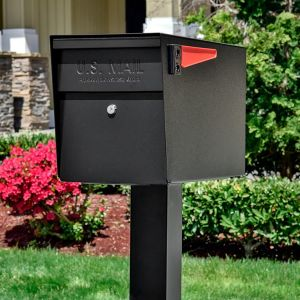 Ultimate High Security Locking Single Mailbox & Post Package
