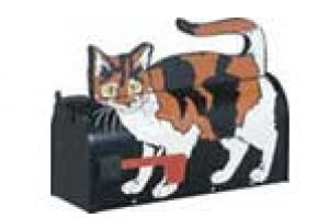 Calico Cat Novelty Mailbox