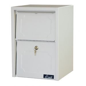 Delivery Vault Junior- Full Service Lockable Curbside Mailbox