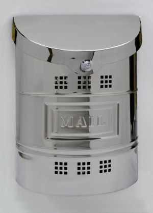 E2 Wall Mounted Stainless Steel Modern Mailbox