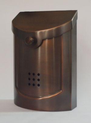 Ecco E5 Brass Mailbox - Choose Finish