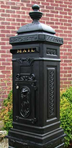 Ecco Victorian Tower Residential Mailbox