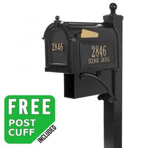 Whitehall Estate Streetside Mailbox Package