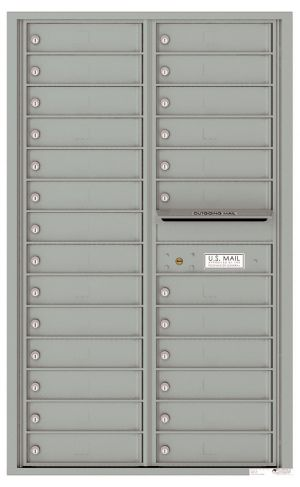 Front Loading Commercial Mailbox - 26 Tenant Doors - Double Column