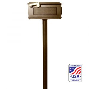 The Hanford SINGLE Lewiston mailbox post system